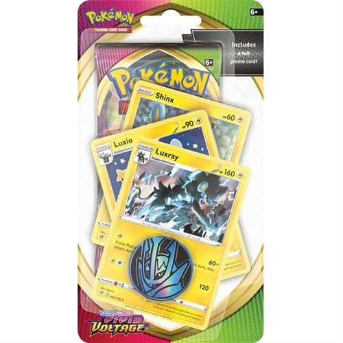 Pokemon Vivid Voltage - Premium Checklane Blister Shinx, Luxio og Luxray - Pokemon kort